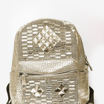 All Shine Hype Backpack - Gold