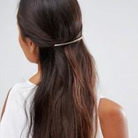 ASOS Metal Bar Hair Comb at asos.com