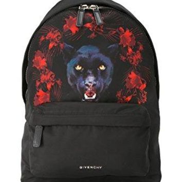 Givenchy Small Backpack Mens Nylon, Polyurethane Black, Multicolor, Red Backpack Bags