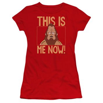 Bobs Burgers - This Is Me Premium Bella Junior Sheer Jersey Shirt Officially Licensed T-Shirt