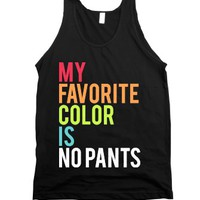 Black Tank | Funny Rainbow Lazy Shirts