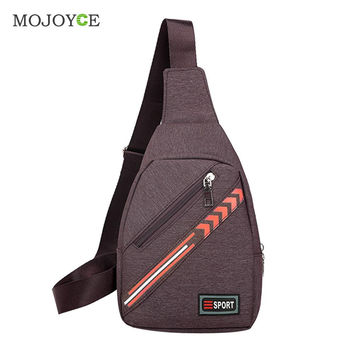 Unisex Fashion Men Women Messenger Bags Cross Body Shoulder Chest Bags Casual Travel Hiking Nylon Chest Bag SN9