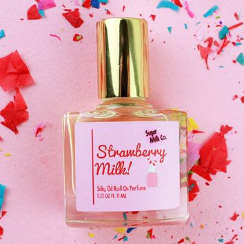 Strawberry Milk Roll On Perfume Oil
