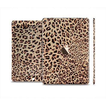 The Brown Vector Leopard Print Skin Set for the Apple iPad Air 2