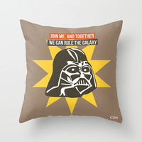 Star Wars pillow cover - Darth Vader throw pillow- christmas gift ideas - Present for him - birthday gift for boyfriend - groomsmen gifts