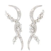 Diamond Twist Earrings | Moda Operandi