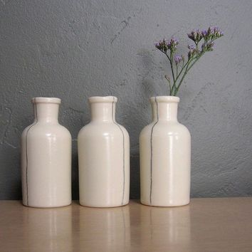 Bottle Seam Series by taylorceramics on Etsy