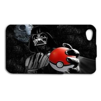Funny Star War Darth Vader Pokeball Phone Case iPhone Cool New