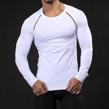 Men's Compression Shirt Fitness and Jogging