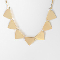 Triangle Banner Necklace - Urban Outfitters