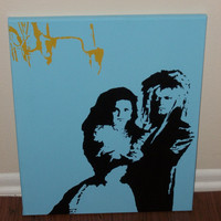 Labyrinth Painting- Sarah and Jareth