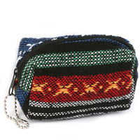 Tribal Style Woven Coin Pouch I