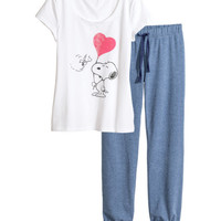 Jersey Pajamas - from H&M