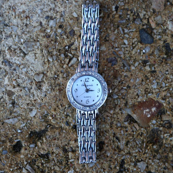 {Pretty in Silver Watch}