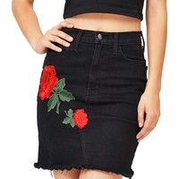 Rosie Denim Skirt