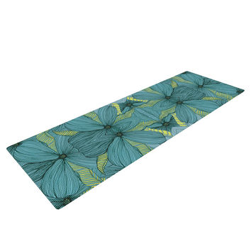 "Akwaflorell ""Blues in Blue"" Yoga Mat"