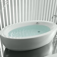 Freestanding oval bathtub GEORGIA by ROCA