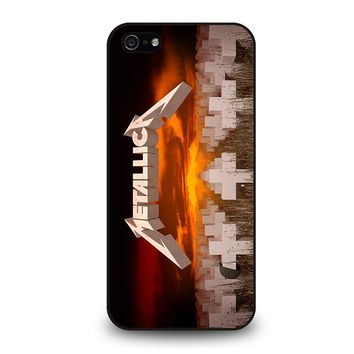 METALLICA MASTER OF PUPPETS iPhone 5 / 5S / SE Case Cover