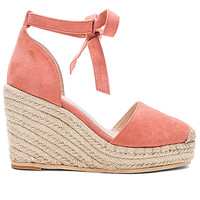 RAYE Dahlia Wedge in Peach | REVOLVE