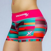 Comp Shorts (PINK PATTERN)