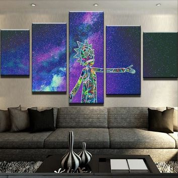 Trippy Rick Canvas Set