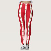 Leggings with flag of Peru