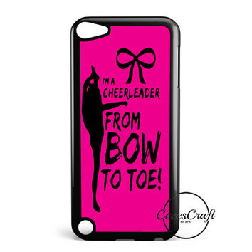 Cheers Cheerleader Bow To Toe iPod Touch 5 Case