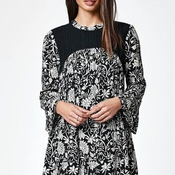 Volcom Salty Free Bell Sleeve Shift Dress at PacSun.com