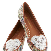Someone Ladylike You Flat | Mod Retro Vintage Flats | ModCloth.com