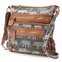Unionbay Elephants Crossbody Bag