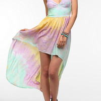 Urban Outfitters - This Is A Love Song Tie-Dye Bustier Maxi Dress