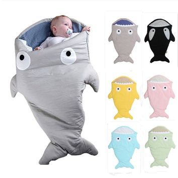 Newborn Shark Bites Baby Sleeping Bag