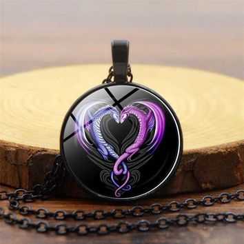 New Arrived Awesome Toothless How to dragon Necklace Steampunk Silver Long Chain Pendant Jewelry For Women Men