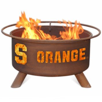 Syracuse Fire Pit Steel Fire Pit by Patina Products