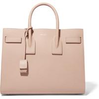 Saint Laurent - Sac De Jour small textured-leather tote