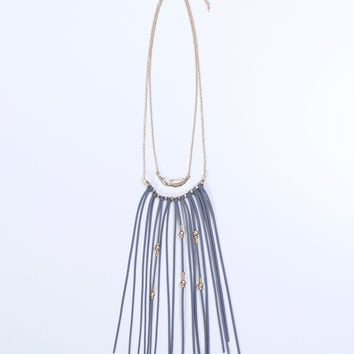 Soulmate Fringe Necklace