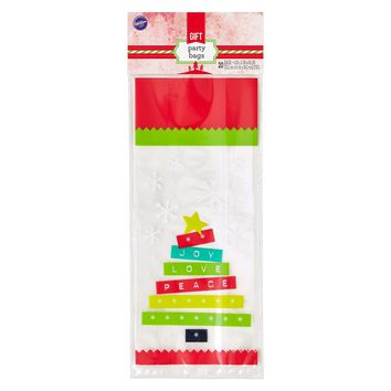Wilton 20ct Christmas Tree Treat Bags : Target