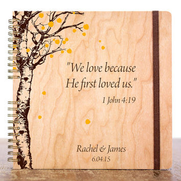 Rustic Wedding Guest Book, Custom Wedding Guest Book, Wood Guest Book, Unique Wedding Guest Book, Wood Guestbook, Personalized Guest Book