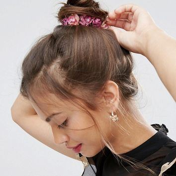 ASOS Rose Hair Bun Holder at asos.com