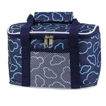 Kitchen Waterproof Lunch Bag Thick large size 29*19*18cm Navy
