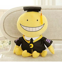 Assassination Classroom Korosensei  Plush Toy Doll Smile Face 12 ""