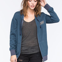 Vans See No Evil Womens Hoodie Blue  In Sizes