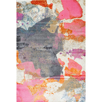 nuLOOM Gresham Pink Area Rug & Reviews | Wayfair