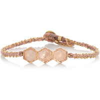 Brooke Gregson - 18-karat rose gold diamond bracelet