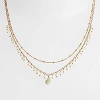 Women's Chan Luu Double Strand Collar Necklace - White