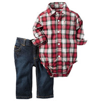 Carter's Boys 2-pc. Pant Set-Baby