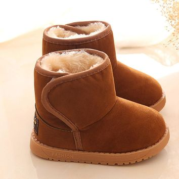 Baby Girl's Fall/Winter Brown Boots