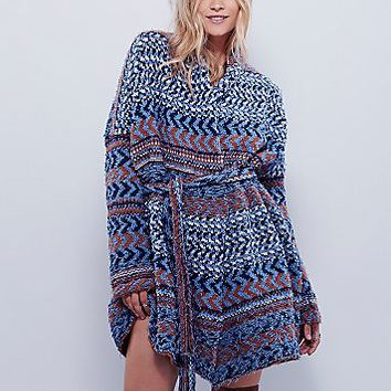 Free People Womens Iona Pattern Cardi