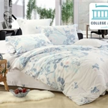 Calm Breeze Twin XL Comforter Set - College Ave Designer Series College Bedding Essentials Must Have Dorm Items