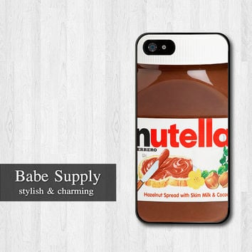 Nutella Bottle iPhone 4 Case, Chocolate Bottle funny cute iPhone 4 4g 4s Hard Case,cover skin case for iphone 4/4g/4s case
